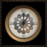 Old fashioned clock. Stock Photo
