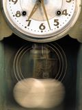 Old-fashioned clock Stock Image
