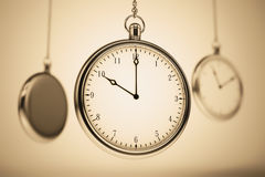Old fashioned clock. Royalty Free Stock Photography
