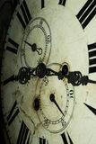 Old Fashioned Clock Face Stock Photo
