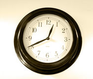 Old-fashioned  clock faces Stock Photo
