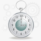 Old fashioned clock Stock Image