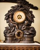 Old Fashioned Clock - Vesterheim Museum Stock Image