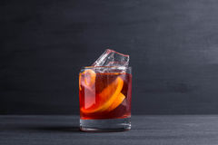 Old fashioned cocktail Royalty Free Stock Photography