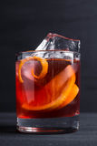 Old fashioned cocktail Royalty Free Stock Image