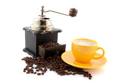 Old fashioned coffee grinder Stock Photos