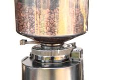 Old fashioned coffee grinder Royalty Free Stock Images