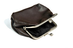 Old fashioned coin purse Royalty Free Stock Photo