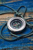 Old-fashioned compass Royalty Free Stock Image