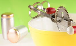 Old fashioned cooking Royalty Free Stock Images