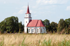 Old fashioned country church royalty free stock photos