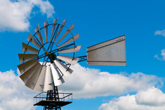 Old Fashioned Country Windmill Stock Image