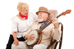 Old Fashioned Courting royalty free stock images