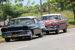 Old fashioned Cuban Car Stock Photo