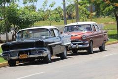 Old fashioned Cuban Car Stock Photo