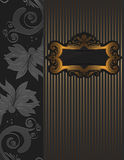 Old fashioned decorative background Royalty Free Stock Photography