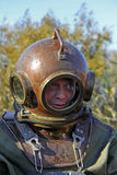 Old-fashioned diving equipment Royalty Free Stock Photos