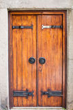 Old fashioned door Royalty Free Stock Images