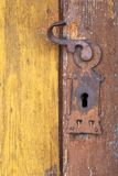 Old fashioned door knob Royalty Free Stock Photography
