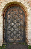Old fashioned door with lock Stock Images