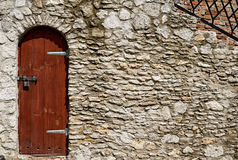 Old fashioned door Stock Image