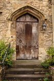 Old-fashioned Doorway Royalty Free Stock Photo