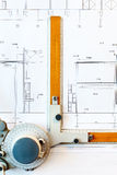 Old-fashioned drawing board Royalty Free Stock Image