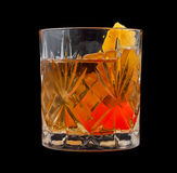 Old Fashioned drink Stock Photography