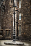 Old Fashioned Edinburgh. An old fashioned lamppost in Edinburgh Stock Images