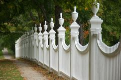 Old-fashioned fence Royalty Free Stock Image