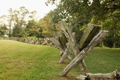 Old Fashioned Fence royalty free stock images
