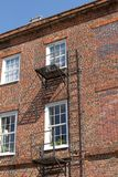 Old Fashioned Fire Escape Royalty Free Stock Photos