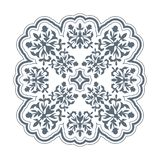 Old fashioned floral design element for textures and backgrounds.  vector illustration