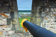 Old-fashioned fortifications Royalty Free Stock Photo