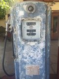 Old fashioned gas bowser Royalty Free Stock Images