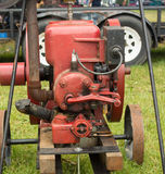 An old-fashioned gas engine at a summer fair in kentucky Stock Images