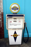 An old-fashioned gas pump Stock Photo