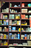 Old-fashioned general store Stock Images