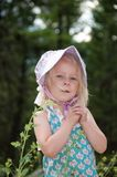 Old fashioned girl Royalty Free Stock Photo