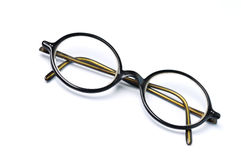 Old-fashioned glasses Royalty Free Stock Photography