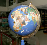 Old fashioned globe on on dark background Stock Photography
