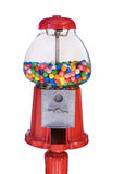 Old Fashioned Gumball Machine (Isolated) royalty free stock photo