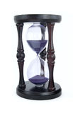 Old-fashioned hourglass Royalty Free Stock Images