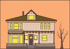 Old-fashioned House Stock Images