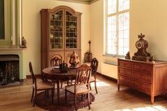 Old fashioned interior. Bokrijk, Belgium stock photo