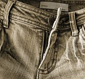 Old fashioned jeans Royalty Free Stock Images