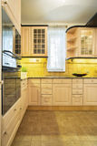 Old fashioned kitchen Stock Images