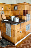 Old-fashioned Kitchen Stove Royalty Free Stock Image