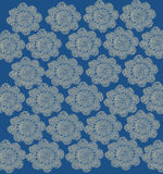 Pale Blue Lace Background Royalty Free Stock Images