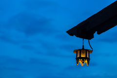 Old fashioned lamp. Royalty Free Stock Photography